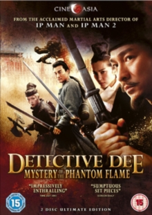Detective Dee and the Mystery of the Phantom Flame, DVD  DVD