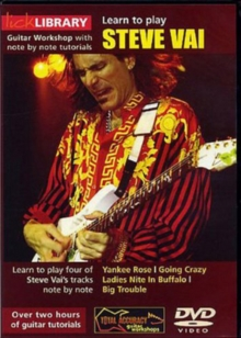 Lick Library: Learn to Play Steve Vai, DVD  DVD