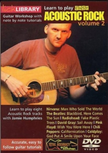Lick Library: Learn to Play Easy Acoustic Rock - Volume 2, DVD  DVD