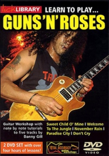 Lick Library: Learn to Play Guns 'N' Roses - Volume 1, DVD  DVD