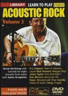 Lick Library: Learn to Play Easy Acoustic Rock - Volume 3, DVD  DVD