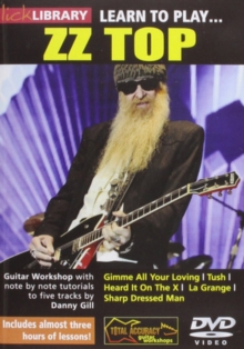Learn to Play ZZ Top, DVD  DVD