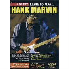 Lick Library: Learn to Play Hank Marvin - Volume 1, DVD DVD