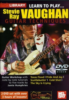 Lick Library: Learn to Play Stevie Ray Vaughan, DVD  DVD