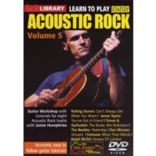 Lick Library: Learn to Play Easy Acoustic Rock - Volume 5, DVD  DVD