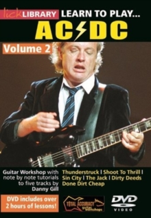 Lick Library: Learn to Play AC/DC - Volume 2, DVD  DVD