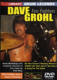 Lick Library: Drum Legends - Dave Grohl, DVD  DVD
