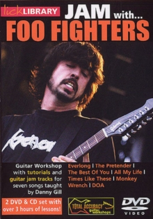 Lick Library: Jam With... Foo Fighters, DVD  DVD