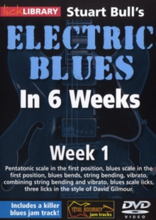 Electric Blues in 6 Weeks With Stuart Bull: Week 1, DVD  DVD