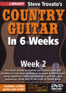Steve Trovato's Country Guitar in 6 Weeks: Week 2, DVD  DVD