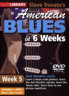 American Blues Guitar in 6 Weeks: Week 5 - Jimi Hendrix, DVD  DVD