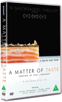 A   Matter of Taste: Serving Up Paul Liebrandt, DVD DVD