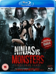 Ninjas Vs Monsters, Blu-ray BluRay