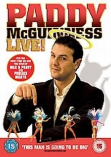 Paddy McGuinness: Live, DVD  DVD