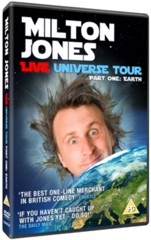 Milton Jones: Live Universe Tour Part 1 - Earth, DVD  DVD