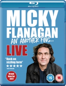 Micky Flanagan: An' Another Fing Live, Blu-ray BluRay
