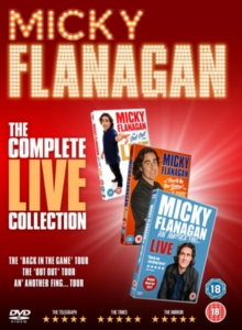 Micky Flanagan: The Complete Live Collection, DVD DVD