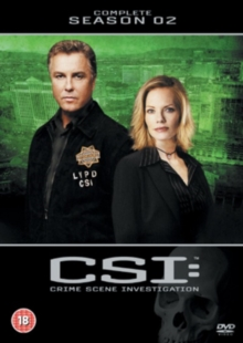 CSI - Crime Scene Investigation: The Complete Season 2, DVD  DVD