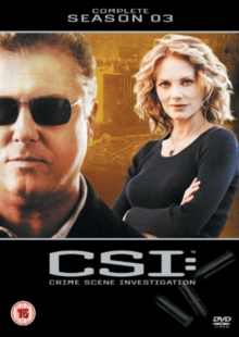 CSI - Crime Scene Investigation: The Complete Season 3, DVD  DVD