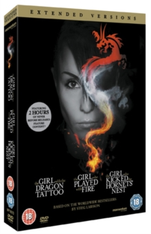 The Girl... Trilogy - Extended Versions, DVD DVD