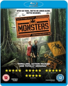 Monsters, Blu-ray  BluRay