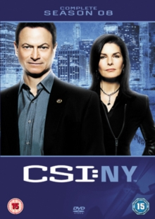 CSI New York: Complete Season 8, DVD  DVD