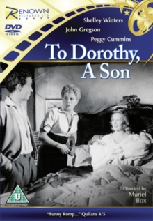 To Dorothy, a Son, DVD  DVD