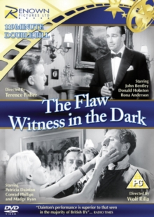 The Flaw/Witness in the Dark, DVD DVD