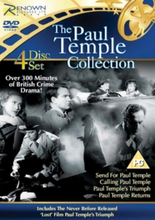 Paul Temple Collection, DVD  DVD