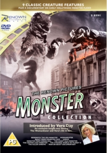 The Renown Pictures Monster Collection, DVD DVD