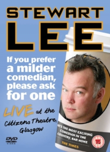 Stewart Lee: If You Prefer a Milder Comedian Please Ask for One, DVD  DVD