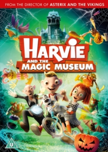 Harvie and the Magic Museum, DVD DVD