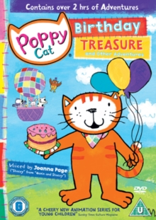 Poppy Cat: Birthday Treasure and Other Adventures, DVD  DVD