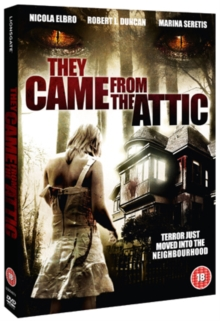 They Came from the Attic, DVD  DVD