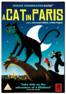 A   Cat in Paris, DVD DVD
