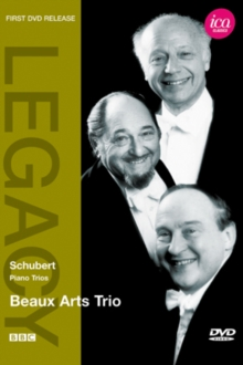 Schubert: Piano Trios (Beaux Arts Trio), DVD  DVD