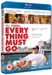 Everything Must Go, Blu-ray  BluRay