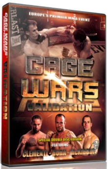 Cage Wars Championship: Validation, DVD DVD