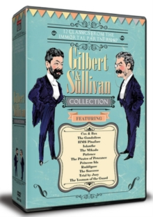Gilbert and Sullivan Collection, DVD DVD