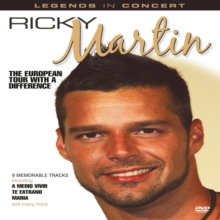 Ricky Martin: European Tour With a Difference, DVD  DVD