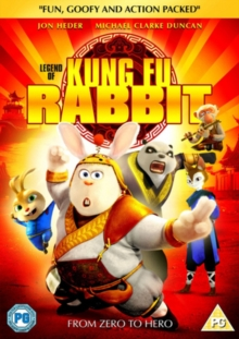 Legend of Kung Fu Rabbit, DVD  DVD