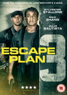 Escape Plan 3, DVD DVD