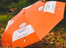 Wuthering Heights Umbrella - Orange,  Book