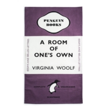 A Room of One's Own - Tea Towel,  Book