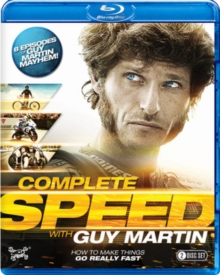 Guy Martin: Complete Speed, Blu-ray BluRay