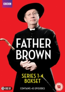 Father Brown: Series 1-4, DVD DVD