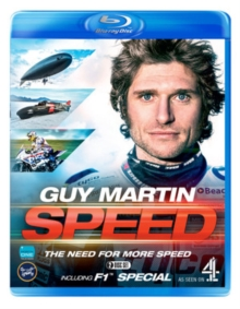 Guy Martin: The Need for More Speed, Blu-ray BluRay