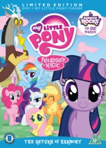 My Little Pony: The Return of Harmony, DVD  DVD