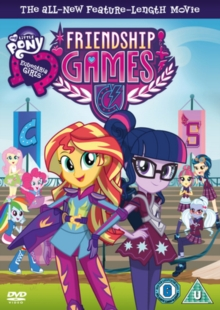 My Little Pony: Equestria Girls - Friendship Games, DVD  DVD