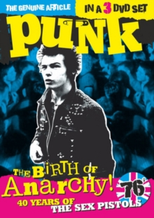 The Birth of Anarchy! - 40 Years of the Sex Pistols, DVD DVD
